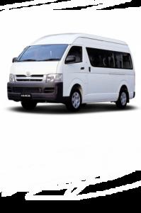 Toyota Hiace Van 12 seater